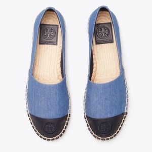 Tory Burch Denim Espadrille